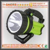 Rechargeable Cordless 8W Spotlight with Warning Light for Searching