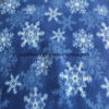 Antipilling Polar Fleece with Snow Print