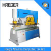 Hydraulic Ironworker Combined Unching and Cutting, Angle Bar Cutting