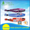 Full Color/Woven ID Badge Holder Lanyard Bracelet Wholesale Manufacture