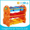 Factory Directly Supply High Quality Pleasant Pack Frame Plastic Kids Toys Storage Rack