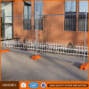Low Visibility Galvanized Steel Temporary Fencing