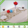 Non Woven Fabric Painting Designs on Table Cloth Made From China