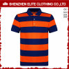 Quick Dry Cotton Polyester Striped Polo Shirts Men (ELTMPJ-203)