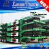 3 Axles 40ft Skeleton Container Semi Trailer Chassis (twist locks)