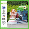 High Quality Polyresin Gnome with Boot Flower Planter (NF360074-2)