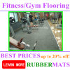 Soundproof Shockproof High Density Rubber Gym Fitness Room Flooring