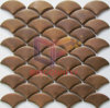 Fish Scale Mosaic Made by Copper (CFM1035)