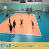 Orange Color Indoor Volleyball Sports Flooring