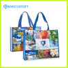 Promotional Custom Logo Printed Laminated PP Woven Handbag Rbc-122
