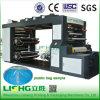 Lishg 4 Colour Stack Plastic Film Flexo Printing Machine
