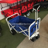 Utility Wagon Beach Collapsible Folding Cart (Blue/White)