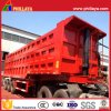 Rear Tipper Tipping Truck Semi Trailer Hydraulic Lifting End Dumper