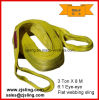3t Yellow Polyester Lifting Webbing Sling 3t X 2m (customized)