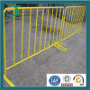 Ccb Temporary Fence with PVC Yellow Crowd Control Barrier
