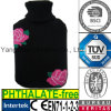 CE Flower Knit Hot Water Bottle Cover