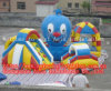 New Design Octopus Inflatable Fun City for Kids Playing Center
