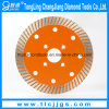 Sintered Diamond Turbo Saw Blade for Hard Rock Cutting