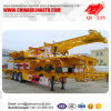 Factory Price 3 Axles 40FT Skeleton Container Semi Trailer