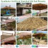 Artificial Palm Synthetic Thatch for Hotels Umbralle Pavilion