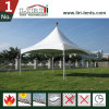Aluminum PVC Structure 6X6m Pagoda Pinnacle Tent for Party