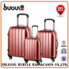 China Case 4 Double Wheel Polycarb 3 Piece Suitcase Set