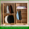 Good Design Four Doors Wood Grain Wardrobe
