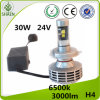 All in One 30W H4 LED Headlight with Canbus