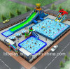 28X50m Inflatable Water Park Design as Per Actual Area