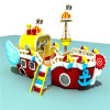 China Indoor Soft Playground Equipment Pirate Ship
