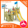 Outdoor Playground Solid Wood Kid Slide