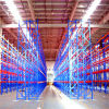 Modern Warehouse with Metal Pallet Rack Storage System