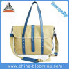 Fashion Lady Cotton Canvas Messenger Handbag Shoulder Bag
