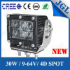 Truck/Tractor/Machinery Equipment LED Work Light 30W CREE LED Work Lamp