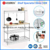 Chrome Kitchen Microwave Oven Rack for Household