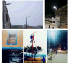 Hot Sales 10W 20W 30W 40W 60W Solar Area/ Street Light