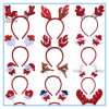 Christmas Santa Claus Antlers Headband Decorations
