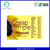 Custom Calling Scratch Card PVC Recharge Cards
