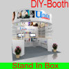 Customized and Reusable Portable Exhibition Booth for Trade Show
