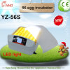 LED Light Hhd Automatic Chicken Egg Incubator for Hatching (YZ-56S)