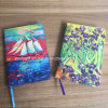 Full Colorful Printing PU Leather Agenda Notebook 4c Printing PU Promotional Notebook