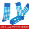 Men′s Argyle Pattern Socks
