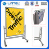 Aluminum Poster Stand Movable Poster Board with Wheels (LT-10D)