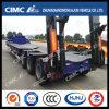 Hot Sale Cimc Huajun 3axle Lowbed Semi Trailer-Three-Line and Six-Axle