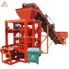 Concrete Kerbstone 6 Inch Concrete Blocks Price Qt4-26 Cement Block Making Machine Price in Ghana