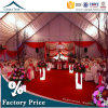 15m Width Rainproof Fabric Big Outdoor Wedding Party Curved Tent with Roof Linings