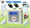 Wireless GSM SMS Home Buglar Security Alarm System with Free Charge Call to Operation