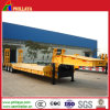 Loading Deck Sunken Tri-Axle Low Loader Semi Truck Trailer