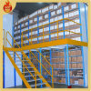 2 Tiers Adjustable Steel Mezzanine Floor Rack Platform System