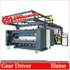 4 Colour High Speed Flexographic Printing Machine Helical Gear